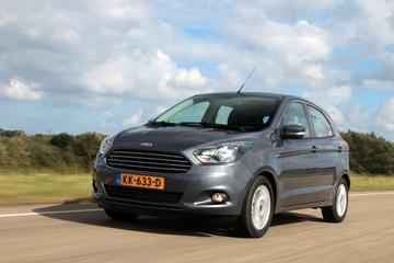 Ford Ka+ in de actiebak