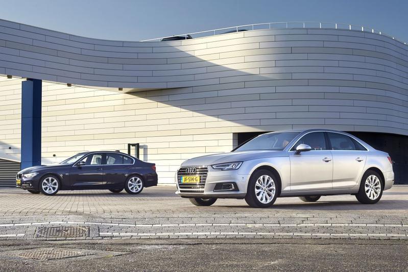 Audi A4 2.0 TFSI vs. BMW 320i - Dubbeltest