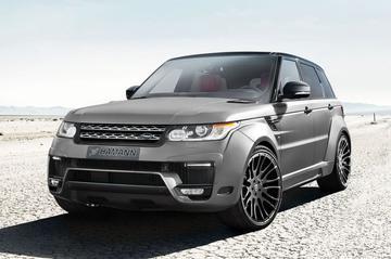 Range Rover Sport aangedikt door Hamann