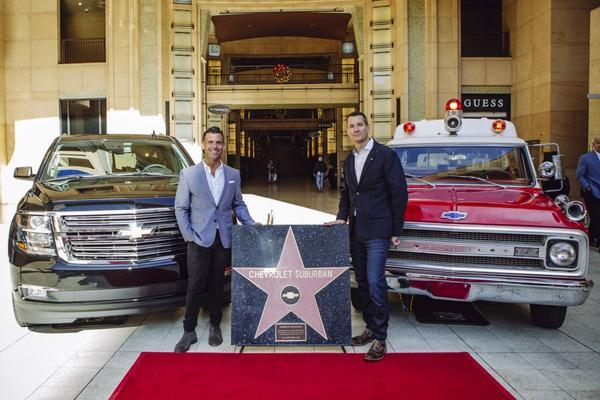 Chevrolet Suburban krijgt Walk of Fame-ster