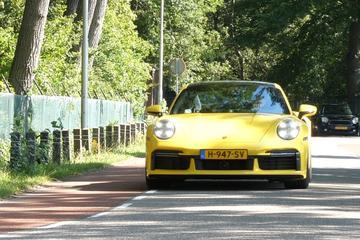 Porsche 911 Turbo S - Achteruitkijkspiegel