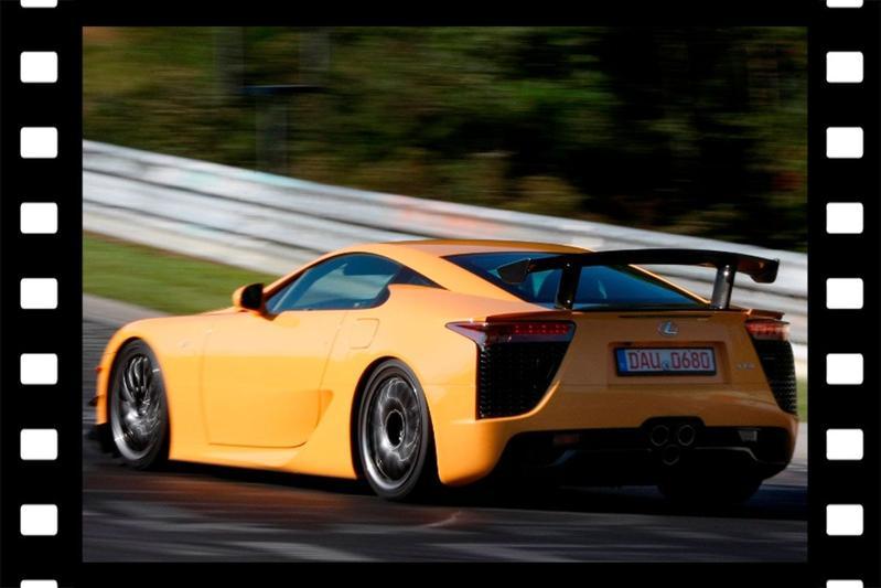 Videoflashback: Lexus LFA Nürburgring edition