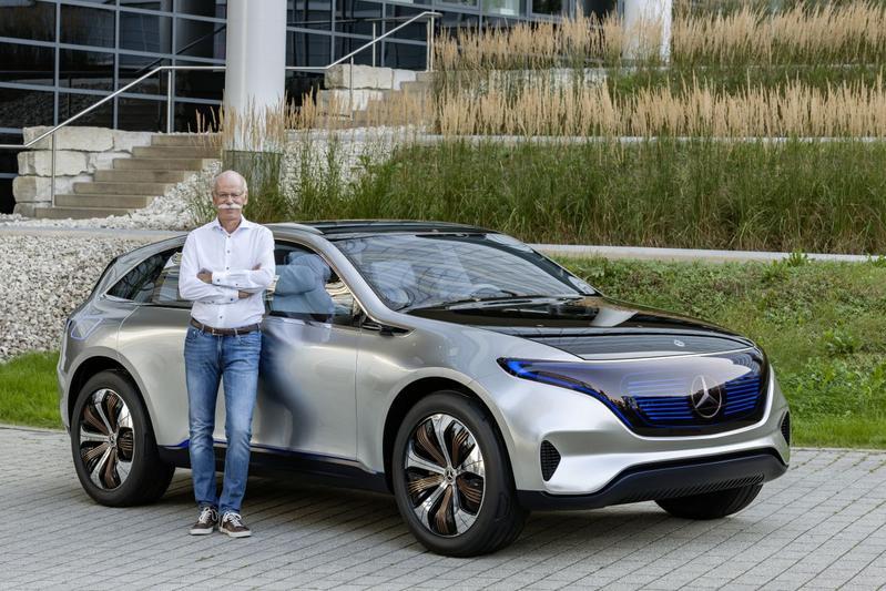 Daimler-topman sluit samenwerking Tesla niet uit