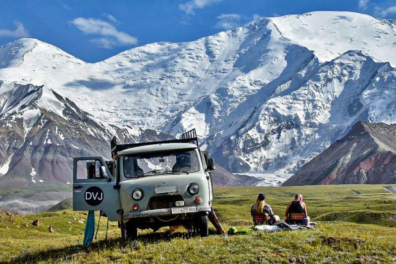 Kirgizië per UAZ – Reportage