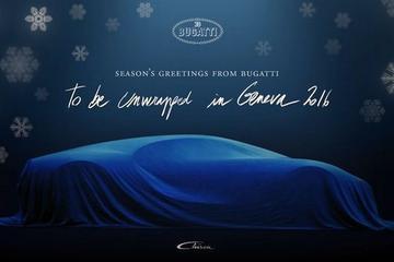 Al honderd Bugatti's Chiron verkocht