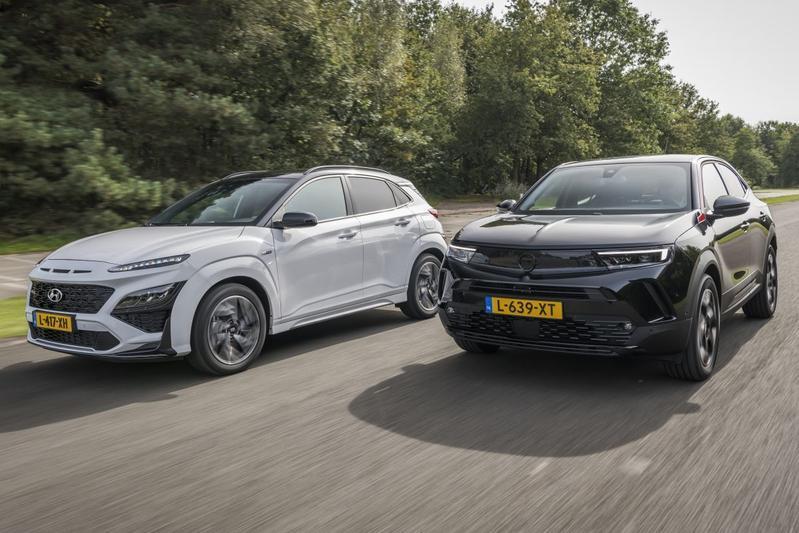 Opel Mokka vs. Hyundai Kona - Dubbeltest