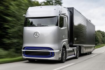 Fabrikanten: 'Enkel uitstootvrije vrachtauto's in 2040'