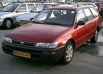 Toyota Corolla Stationwagon 1.6 XLi (1995)