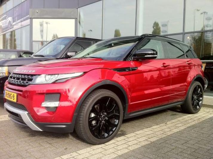 Land Rover Range Rover Evoque 2.2 SD4 4WD Dynamic (2012)