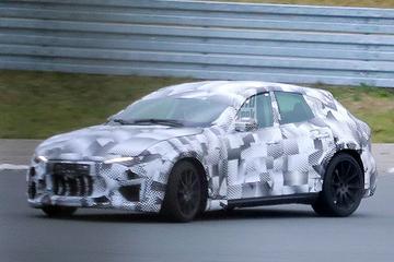 Ferrari Purosangue (SUV) als testmule betrapt