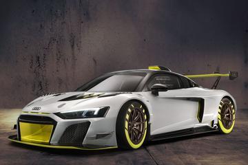 Audi toont R8 LMS GT2