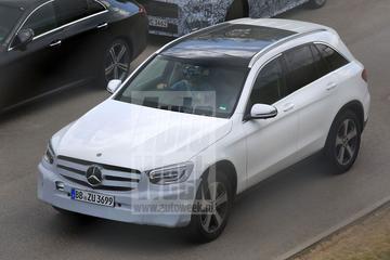 Mercedes-Benz GLC-klasse facelift
