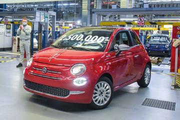 2,5 miljoenste Fiat 500 uit Polen