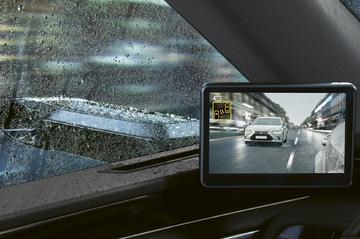 Europese Lexus ES krijgt digitale zijspiegels