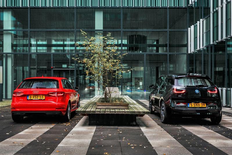 Audi A3 Sportback E-tron - BMW i3