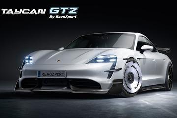 Porsche Taycan volgens RevoZport