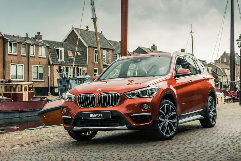 BMW X1 als Orange Edition