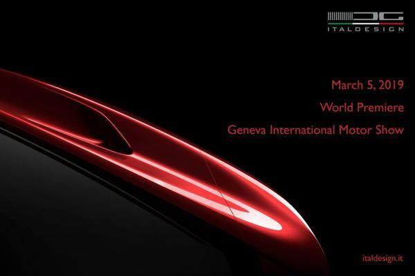 Italdesign met nieuwkomer naar Genève