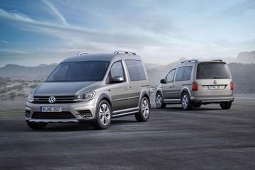 Vernieuwde Volkswagen Caddy ook als Alltrack