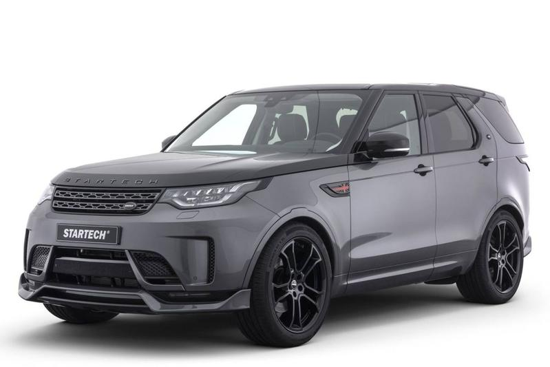Land Rover Discovery volgens Startech