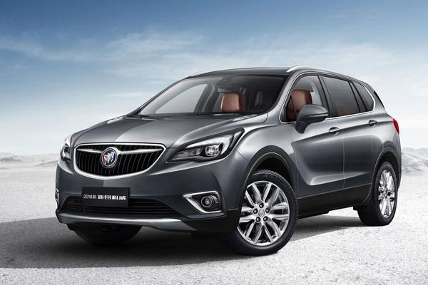 Facelift voor Buick Envision