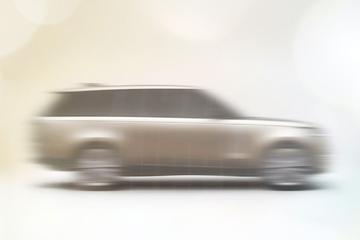 Nieuwe Range Rover geschetst