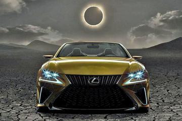 Meer plaagwerk Lexus LF-C2