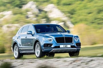 Bentley met Bentayga naar Pikes Peak