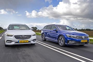 Volkswagen Passat Variant vs. Opel Insignia Sports Tourer - Dubbeltest