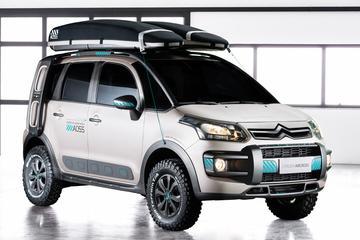 Citroën toont avontuurlijke C3 Aircross Lunar