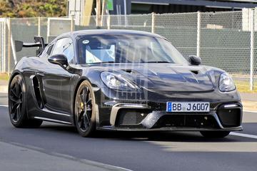 Porsche 718 Cayman GT4 'RS' gesnapt