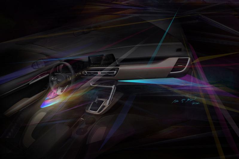 Kia interieur teaser compacte SUV