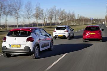 Citroën C3 vs. Peugeot 208 vs. Renault Clio