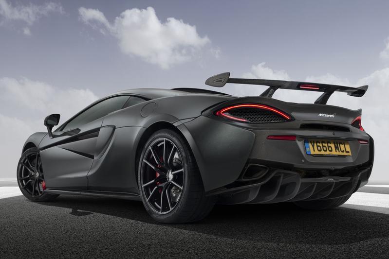 McLaren Sports Series 570S spoilers MSO