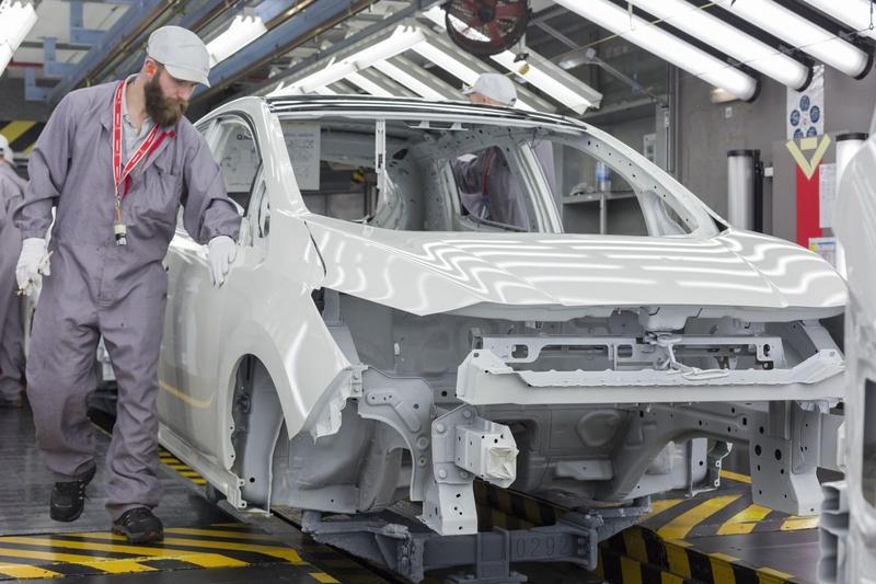 Nissan Leaf productie Sunderland