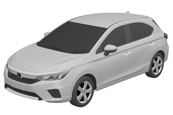Honda's nieuwe hatchback duikt op