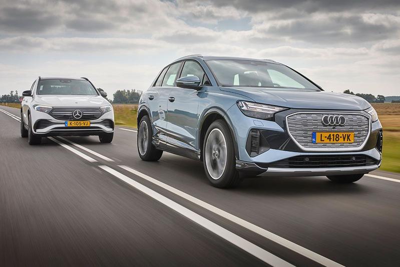 Audi Q4 e-tron vs. Mercedes-Benz EQA - Vergelijkende test