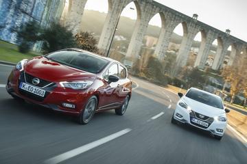 Nissan lepelt nieuwe motor in Micra