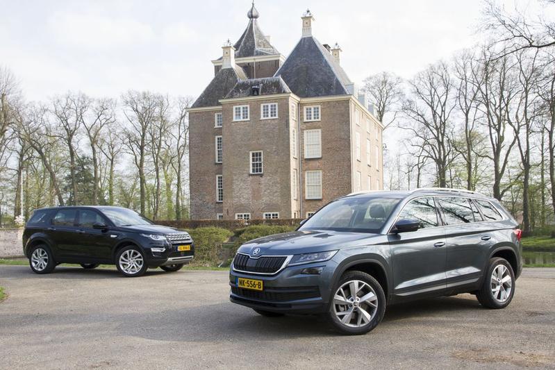 Skoda Kodiaq vs Land Rover Discovery Sport - Dubbeltest