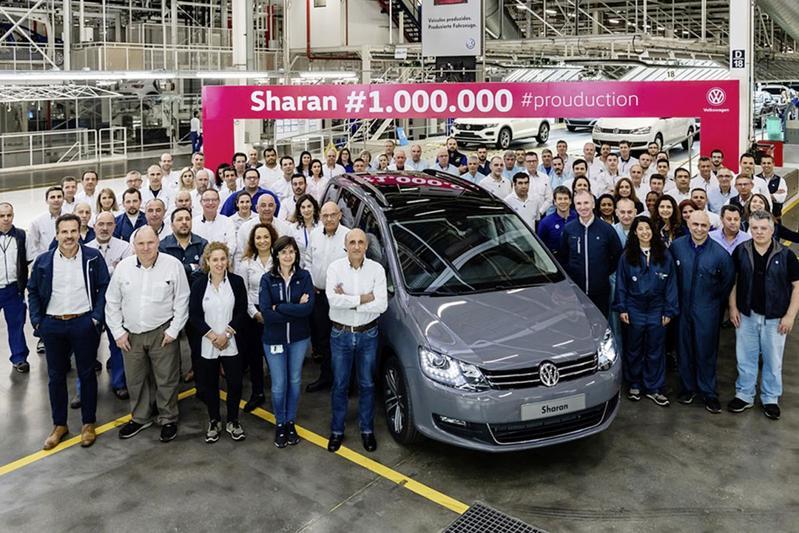 Volkswagen Sharan productie
