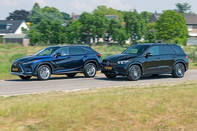 Lexus RX 450h vs. Mercedes-Benz GLE 350de - Dubbeltest