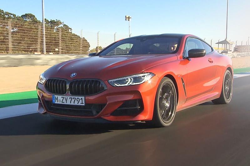 BMW 8-serie - Rij-impressie