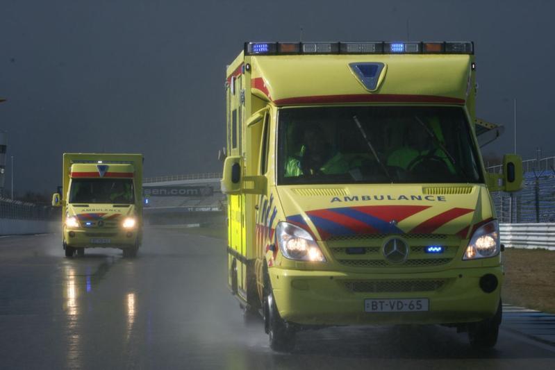 ambulance ziekenwagen ongeval