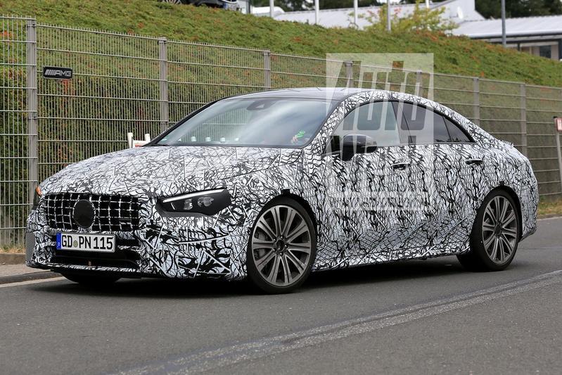 Mercedes-AMG CLA 45 voor het eerst in beeld