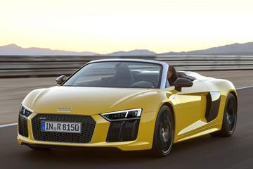 Audi presenteert R8 Spyder