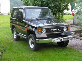 Toyota Land Cruiser 2.4 LX Turbo D Hardtop (1985)