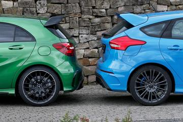 Mercedes-AMG A45 vs. Ford Focus RS