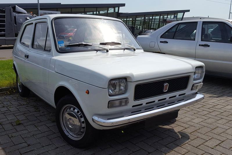 In het Wild: Fiat 127 (1976)