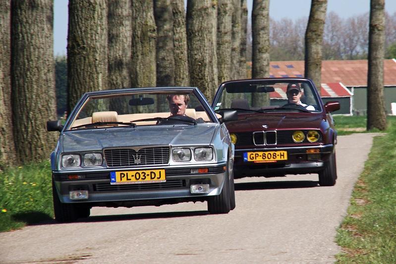 Classics dubbeltest - BMW 325i vs. Maserati Biturbo