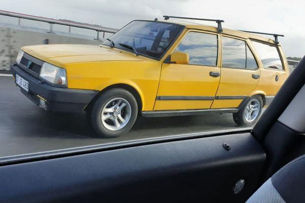 De Tweeling: Fiat 131 - Tofas Sahin - Tofas Kartal